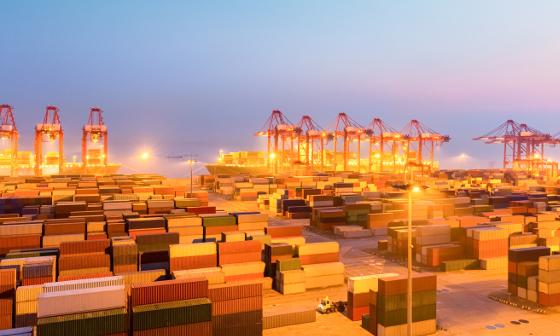 stina logistic transport container